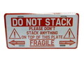 COMMERCIAL PLATE~DO NOT STACK~