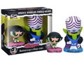 THE POWERPUFF GIRLS~BUTTERCUP & MOJO~(FUNKO WACKY WOBBLER)