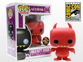 UGLYDOLL RED NINJA BATTY SHOGUN SDCC 2012 EXCLUSIVE POP! VINYL FIGURE