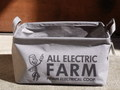 ALL ELECTRIC FARM FABRIC BASKET(L SIZE)