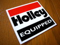 RACING STICKER~HOLLEY EQUIPPED~