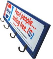 PEPSI WOODEN HOOK BOARD~BLUE~