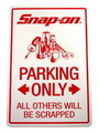 Snap-on OFFICIAL STICKER~PARKING~