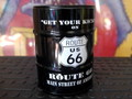 DRUM CAN ASHTRAY~ROUTE66~