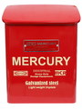 【20%OFF!!】MERCURY Porch Mail Box~RED~