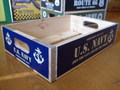 【20%OFF!!】WOOD CRATE BOX~U.S.NAVY~
