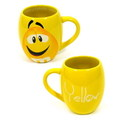 M&M'S ROUND 19oz MUG~YELLOW~
