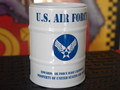 DRUM CAN ASHTRAY~U.S.AIR FORCE~