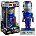 IRON MAN 3~IRON PATRIOT~2013 SDCC EXCLUSIVE(FUNKO WACKY WOBBLER)