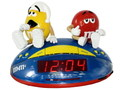 M&M'S AM/FM ALARM CLOCK RADIO