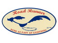 ROAD RUNNER STICKER~OVAL~