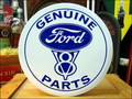ROUND SIGN PLATE~Ford GENUINE PARTS~