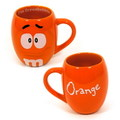 M&M'S ROUND 19oz MUG~ORANGE~