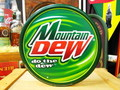 Mountain Dew ROUND SIGNPLATE