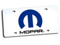 MOPAR OFFICIAL LICENSE PLATE~WHITE~