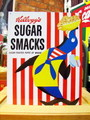 TIN SIGN~Kellogg's SUGAR SMACKS~