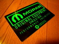 RACING STICKER~MOPAR ORIGINAL EQUIPMENT~