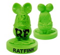 RAT FINK Old Style Statue~GREEN~