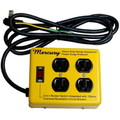 MERCURY 4 OUTLET STEEL CASE~MUSTARD~