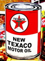 TEXACO BIG SIGN PLATE~オイル缶~