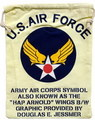 U.S.AIR FORCE 巾着