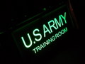 MERCURY ROOM SIGN LIGHT~U.S.ARMY~