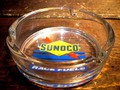 ROUND ASHTRAY ~SUNOCO~