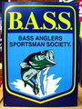 SIGN PLATE~B.A.S.S.~