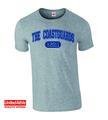 【The Coastguards】 -T-Shirts 灰×紺-