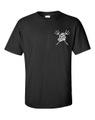【The Coastguards】 -T-Shirts 黒×白-