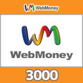 WebMoneyコード(3000円コード)