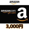 Amazonギフト Eメールタイプ(3,000円券)