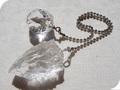 No.458 スターカット水晶のペンデュラム