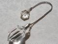 No.547 六芒星シトリンと水晶のペンデュラム