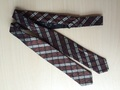 VINTAGE 1930'S 40'S ART DECO MEN'S SILK BOW TIE