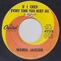 """WANDA JACKSON/If I Cried Every Time You Hurt Me(中古7"""")"""