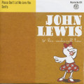 "JOHN LEWIS & HIS R&R TRIO/Please Don't Let Me Love You(7"")"