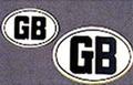 """""""GB""""シール小"""