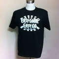 EASY COME, EASY GO 限定Tee BLACK/WHITE