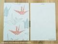 postcard 折鶴/oriduru