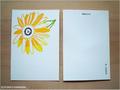 postcard ひまわり/sunflower