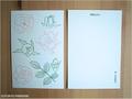 postcard ローズグリーン/rosegreen