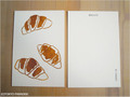 postcard クロワッサン/croissant