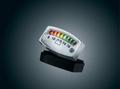 LED バッテリーゲージ(クロム)