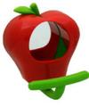 リンゴのフィードカップ(ミラーつき) [51g]
