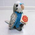 セキセイインコのぬいぐるみ (青色) チビ [75g]