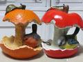 <M&M>フィギュア!野鳥と果実