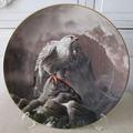 <Royal Doulton>飾り皿!白隼