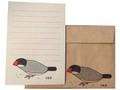 レターセット 桜文鳥