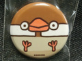 ぶんちょこ缶バッチ シナモン文鳥